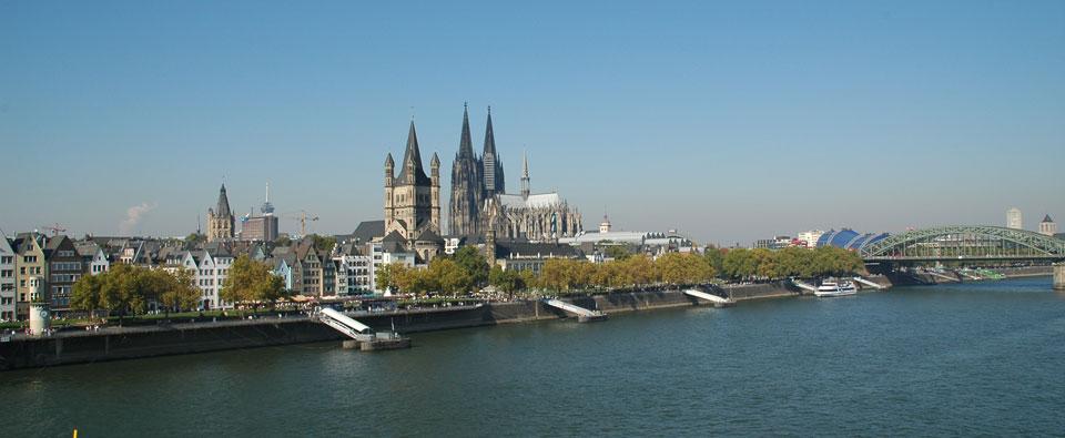 Foto Panorama Köln